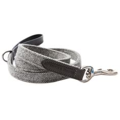 Mutts & Hounds Stoneham Tweed and Leather Lead £59.50