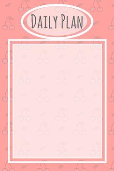 #dailyplan #planner #plan #day #organizer #whatcanido  #today #pink #cherries polecam :)