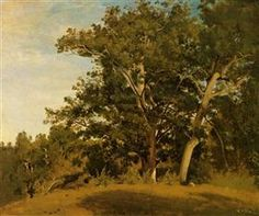 Fountainebleau With Georges d'Apremont - Camille Corot