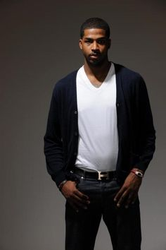 Tristan Thompson #13 - Cleveland Cavaliers! Tristan Thompson, Nba Basketball, Celebrity Crush, Cleveland, Beautiful People, Eye Candy, Bomber Jacket, Celebrities, Sports