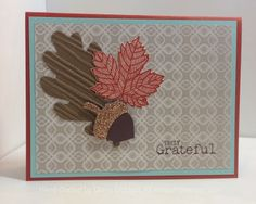 Stampin' Fun with Diana: 30 Days of Gratitude Card Challenge: Day 28 Happy Thanksgiving!