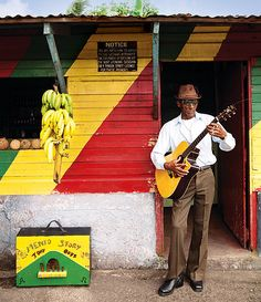 Albert Minott of The Jolly Boys at Willow Wind Bar, Port Antonio, Jamaica. Photo by Cedric Angeles. Once an outpost of international glamour, Port Antonio is now getting its groove back. The Jolly Boys, one of the island's oldest bands, were there at the start. Patrick Neate joins them for rum, reggae and reminiscences. Visit www.bahighlife.com