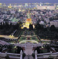 Last Minute Gift, Ready To Ship, Israel Haifa Bahia Gardens - Israel travel - Holy Places Heiliges Land, Terra Santa, Haifa Israel, Israel Palestine, Naher Osten, Visit Israel, Israel Travel, Israel Trip, Tel Aviv