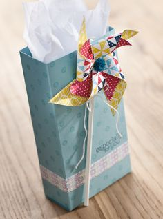 Pinwheel gift bag for any occasion!