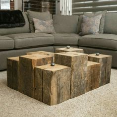 Nice alternative to a traditional coffee table.
