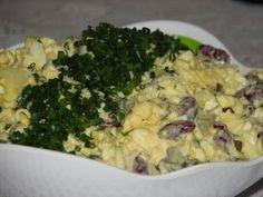 Extra sałatka z kurczakiem i kukurydzą - Przepisy kulinarne - Sałatki Potato Salad, Cauliflower, Macaroni And Cheese, Grilling, Potatoes, Vegetables, Ethnic Recipes, Food, Mac And Cheese