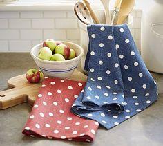 Polka Dot Kitchen Towels http://rstyle.me/n/eycyer9te