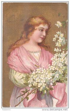 """Alte Ansichtskarten """"Engel"""" 1906 Bayern Deutschland."""