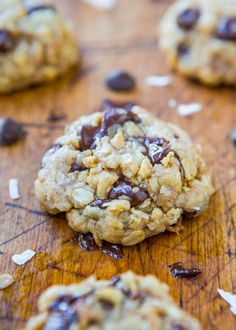 Averie Cooks Soft and Chewy Oatmeal Coconut Chocolate Chip Cookies - Averie Cooks