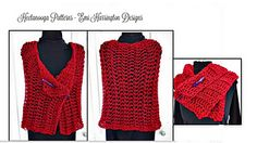 Ravelry: YTcr- Beginner Red Shawl pattern by Emi Harrington