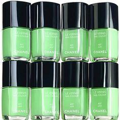 Chanel Jade Nail Polish