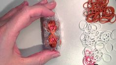 New 3D Bunny Rabbit Magnet Figure / Charm - Monster Tail or Rainbow Loom