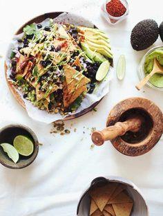 Chickpea Tortilla Nachos | My New Roots | Bloglovin'