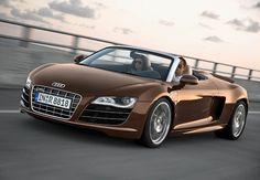 Brown Audi R8