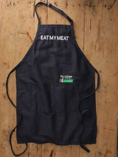 "Pat LaFrieda Meat Purveyors - ""Eat My Meat"" Apron"
