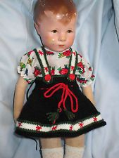 STRICKROCK bestickt + Bluse von meiner Kruse-Puppe Hampelchen  UVP 29,90 Euro
