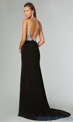 Gorgeous backless dress