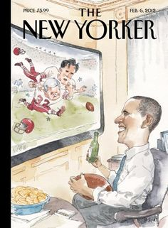 """This week's cover """"In Good Health,"""" by Bob Staake, captures the moment described by the Times as a """"victory for Mr. Obama and Congressional …"""