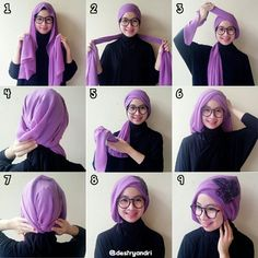 What about turban?,its easy and simple if you're wear it.  #googling