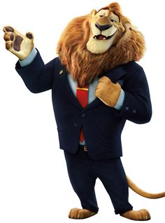 "Mayor Lionheart from Disney's ""Zootopia"""