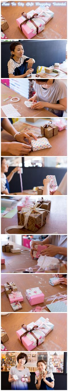 How To #Diy #Gift #Wrapping #Tutorial