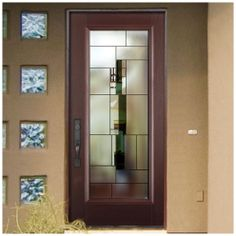 Masonite 39 aria 39 decorative glass rona no price for Masonite belleville door price