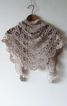 Anna Shawl PDF Crochet Pattern par ShaggyNest sur Etsy