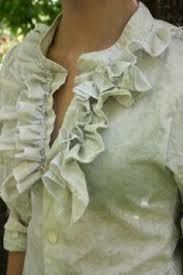 Image result for refashion ruffle tie cross