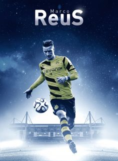 Marco Reus - Borussia Dortmund Bvb graphic by: Jacek Jaśkowiak www.facebook.com/jaskowiak.artde