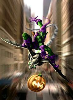 The Green Goblin Strikes by HarryBuddhaPalm.deviantart.com on @deviantART