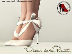 MA$ims 3: Oscar de la Renta 2013 Collection 3D Shoes