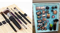 Do you have so many makeup and makeup tools they clutter all around? I guess this is every make-up junkie's dilemma. When you finally arranged them, it's Oh-La-Lahh... But then again you are in a hurry and you get this and that and and put them there and here and before you know it, there they go ag