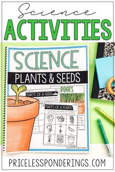 Help your elementary students explore, learn, and write about plants and seeds. Check out these engaging lesson plans and worksheets, great for a second grade science class. Parts Of A Seed, Parts Of A Plant, Vocabulary Word Walls, Vocabulary Cards, Science Resources, Science Activities, Second Grade Science, Plant Science, Reading Passages
