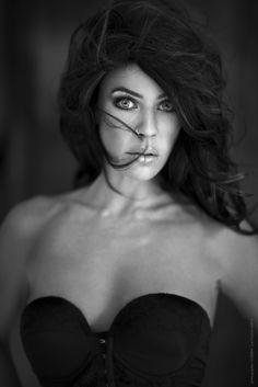 Lauren by Lori Cicchini on 500px #portrait #blackandwhite #woman #beauty