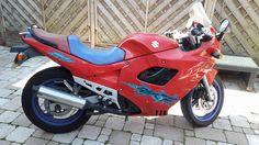 Suzuki GSX 600F #tekoop #aangeboden in de groep van #Motortreffer (zie: www.facebook.com/groups/motorentekoopmt) #motorentekoopmt #suzuki #suzukigsx #suzukigsx600f #sportbike #sportmotor