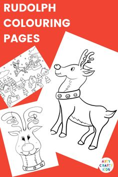 Arty Crafty Kids Children's Christmas Coloring Pages Easy Preschool Crafts, Christmas Crafts For Kids To Make, Creative Activities For Kids, Easy Arts And Crafts, Diy Gifts For Kids, Easy Crafts For Kids, Kids Diy, Creative Kids, Fun Activities