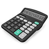 #10: Calculator Splaks Standard Functional Desktop Calculator Sola and AA Battery Dual Power Electronic Calculator with 12-digit Large Display [1 AA Battery Included] - phones (http://amzn.to/2cumGsb) printers (http://amzn.to/2cunwoO) shredders (http://amzn.to/2bXf0y6) projectors (http://amzn.to/2ch8mil) scanners (http://amzn.to/2bMXiIv) laminators (http://amzn.to/2ch9P8C)