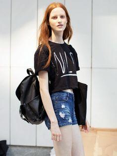 NYFW Model Street Style: Magdalena Jasek