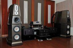 Von Schweikert VR-9 SE listening room.