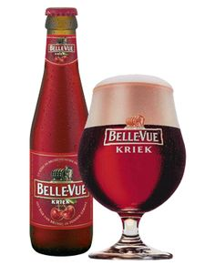 Belle-Vue Kriek, didn't care for this one much either. It had a funny aftertaste… Beer Brewing, Home Brewing, Belgian Beer Cafe, Whisky, Tequila, Vodka, Lambic Beer, Rum Beer, Beer Glassware