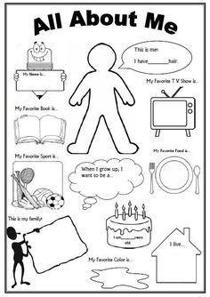 Související obrázek | angličtina | First day of school activities ...