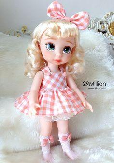 Disney Animators Cinderella Repaint Doll Cute Dress