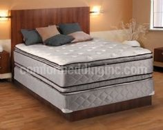 Hollywood Coil Comfort Double Sided Pillowtop Queen Size Mattress And Box Spring Set Dream Solutions Inc
