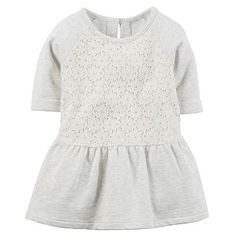 Carter's Floral Lace Tunic - Toddler Girl