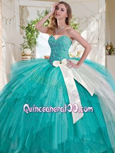 puffy quinceanera gown