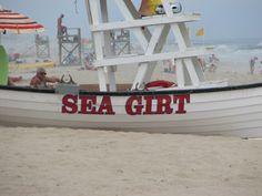Sea Girt Beach, NJ  Beach I like the best on the shore