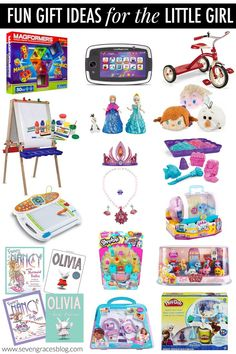 Fun Gifts for the Toddler Girl | Toddler girls, Birthday gifts and ...