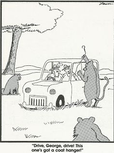 the far side | The Lions of the Far Side