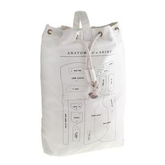 J.Crew - Izola™ laundry bag USD 46.00 Inspired by things built to last and by a masculine sense of antiquity, Izola pulls together items that fit its ideals. Born out of the old sea bags used by the U.S. Navy, these bags are made of durable lightweight canvas with reinforced stitching, making them ideal for carrying heavy loads off the ship—or just to the Laundromat.