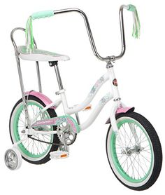 6fe6e9d95ea Amazon.com : Schwinn Girl's Jasmine 16-Inch Bicycle, White : Sports &  Outdoors